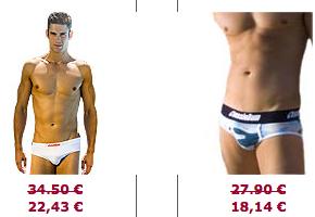 soldes slip aussiebum Soldes Slips : Spécial Slips Fashion et Buzz (Aussiebum, Andrew Christian, Calvin Klein et Dolce & Gabbana)