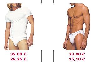 soldes slip calvin klein Soldes Slips : Spécial Slips Fashion et Buzz (Aussiebum, Andrew Christian, Calvin Klein et Dolce & Gabbana)