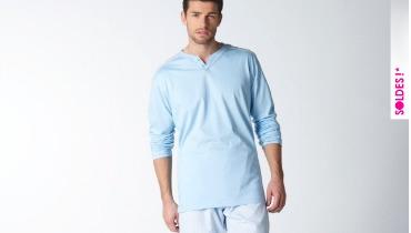 soldes pyjama homme hiver 2013 sur quels mod les faut il garder un oeil la lingerie le. Black Bedroom Furniture Sets. Home Design Ideas