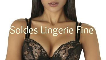 soldes lingerie fine